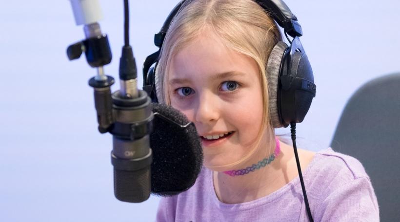 D'Nori am Studio vum radio 100,7