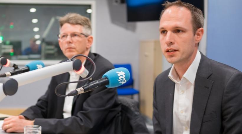 Lénks: Carlo Harpes, Riets: Christophe Buschmann.