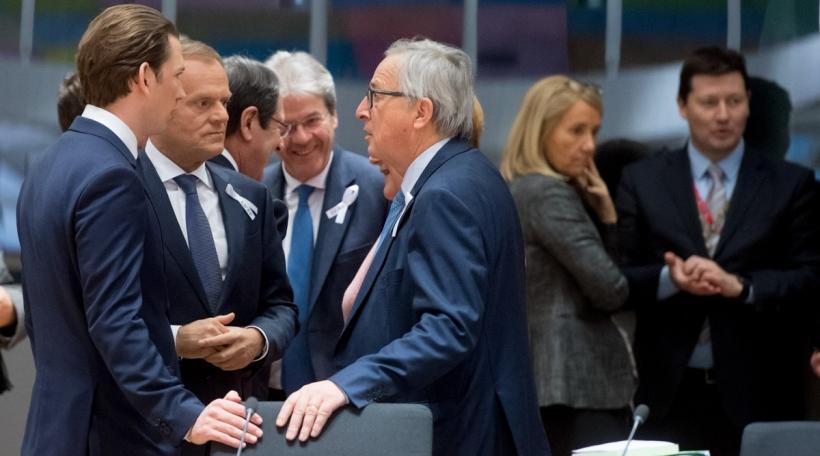 Kurz Tusk Juncker