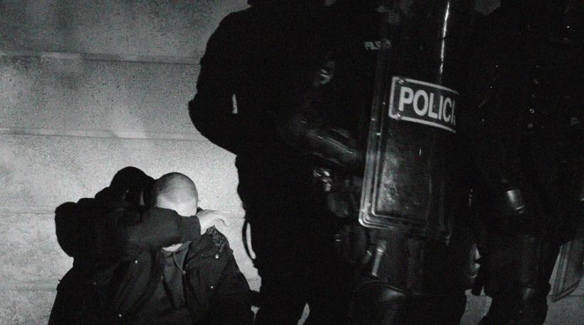Policija na protestih