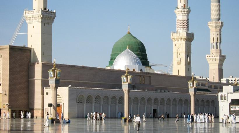 Moschee vum Prophéit_Saudiarabien