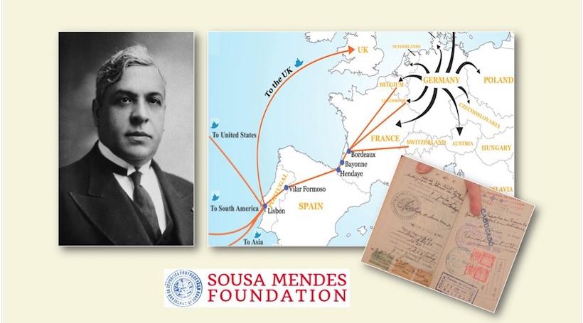 Aristides de Sousa Mendes | Flüchtlings-Routen | Visa