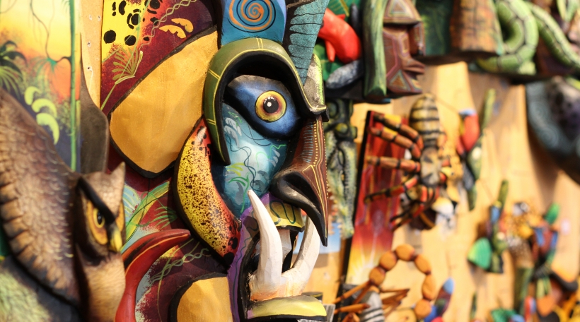 Konscht an der Galeria Namu zu San José a Costa Rica
