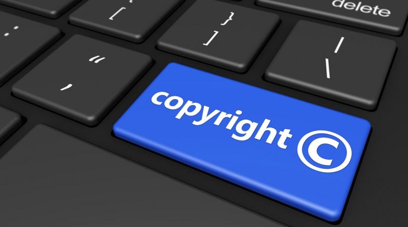 Copyright Symbol On Computer Keyboard
