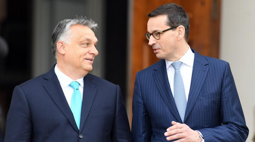 Viktor Orban a Mateusz Morawiecki
