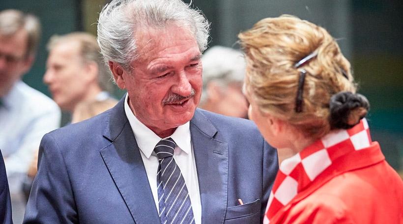 Jean Asselborn um Ausseminister-Conseil, 16.07.2018