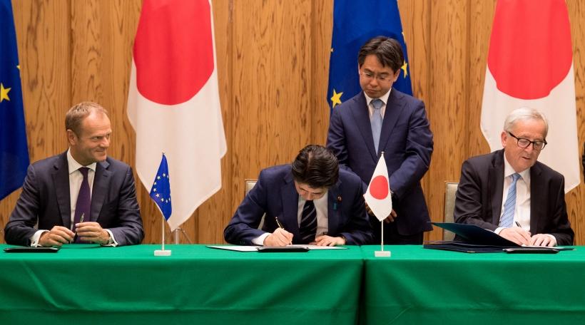 Sginature vum EU-Japan-Fräihandelsaccord