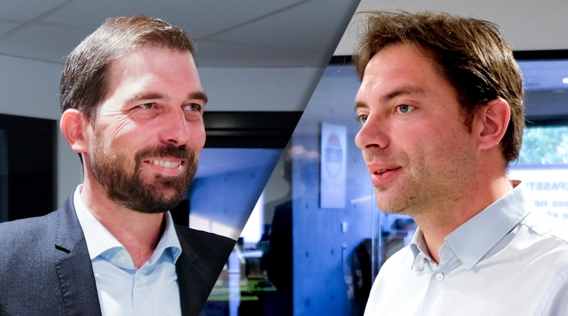 Yves Cruchten a Fred Keup
