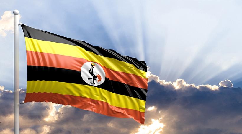 Fändel vum Uganda