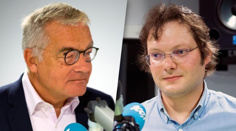Laurent Mosar (CSV) a Michel-Erpelding (déi Lénk)