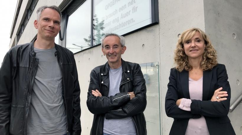Jean-Lou Siweck, Romain Hilgert, Caroline Mart