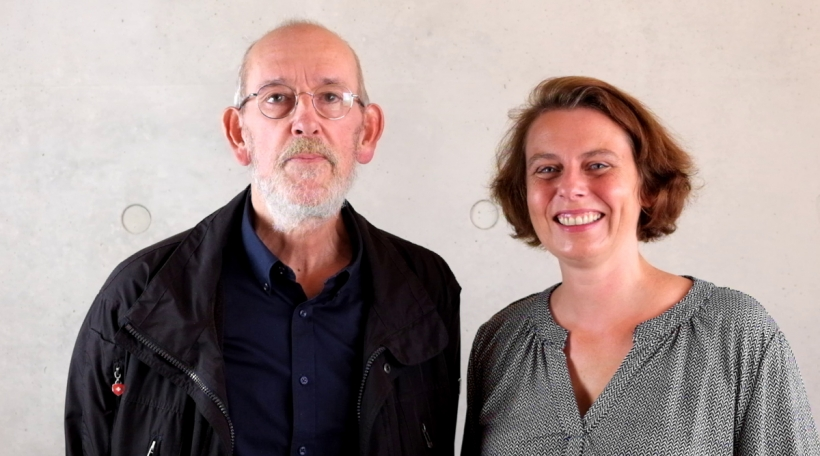 Guy Rewenig a Nathalie Ronvaux.