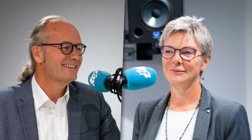 Claude Turmes a Martine Hansen