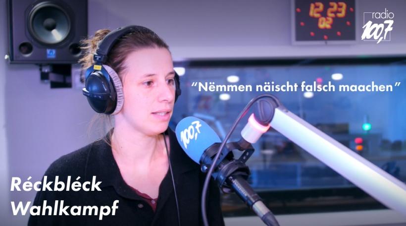 Réckbléck op déi véiert Wahlkampfwoch