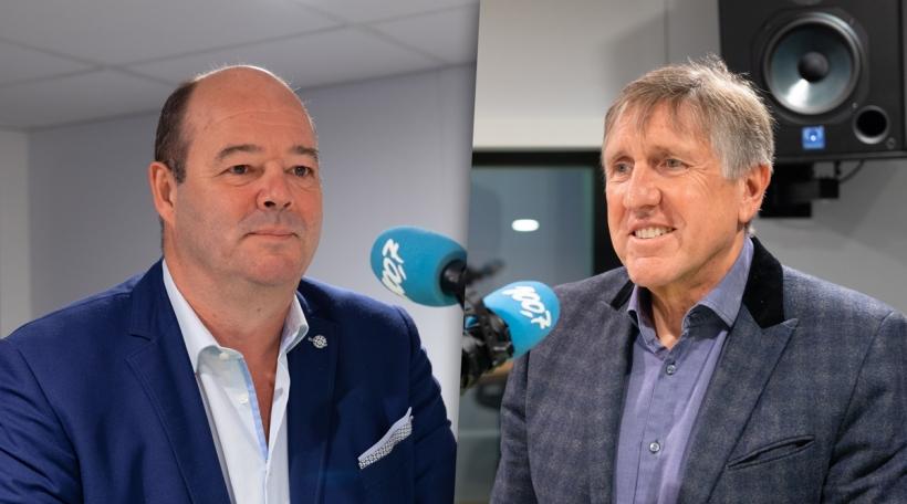 Claude Haagen (LSAP) a François Bausch (déi gréng)