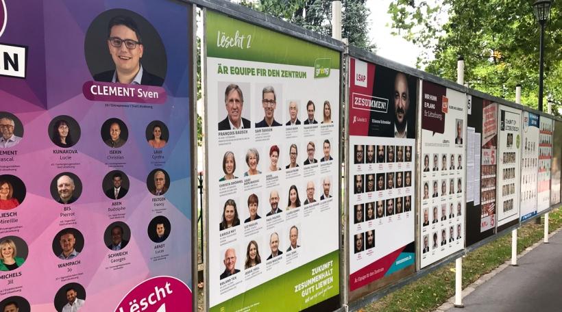 Wahlplakater fir VISUEL