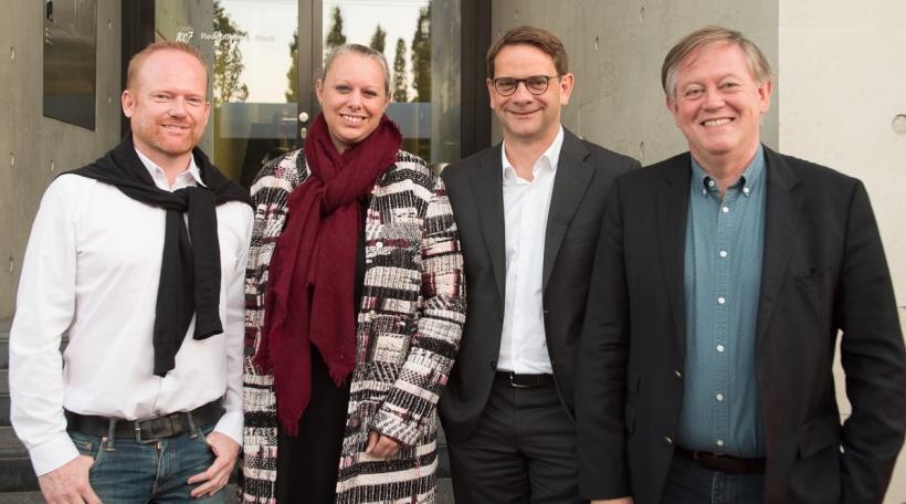 Claude Lamberty, Carole Dieschbourg, Laurent Zeimet, Alex Bodry