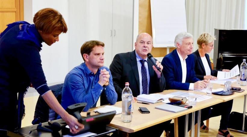 Laurent Zeimet, Marc Spautz, Claude Wiseler, Martine Hansen