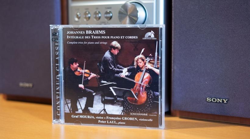 Johannes Brahms - Intégrale des trios pour piano et cordes