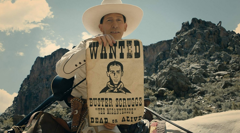 Den Tim Blake am Buster Scruggs