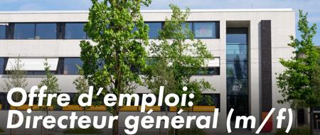 Offre d'emploi: Directeur général (m/f)