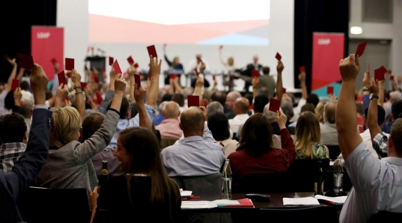 LSAP-Wahlkongress, Juli 2018