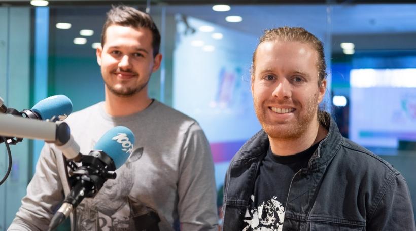 Daniel Mac Lloyd a Raphael Gindt