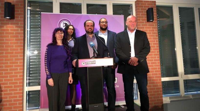 D'Piratepartei nom Kongress am Februar 2019