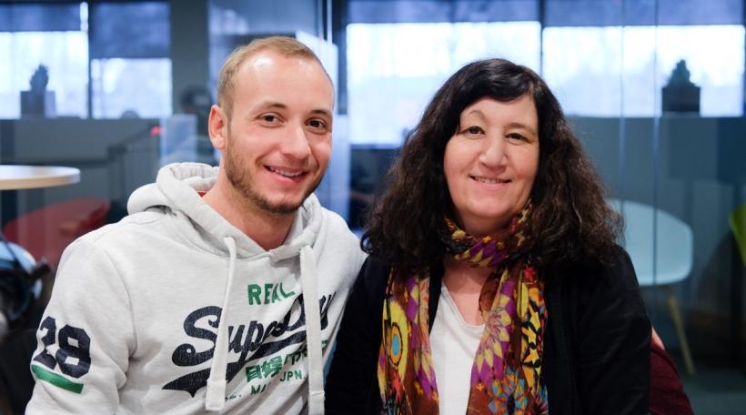 Maximilien Jadin, Nathalie Moretti