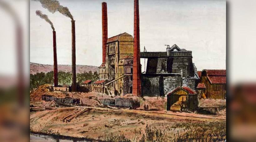 Metzeschmelz ëm 1870
