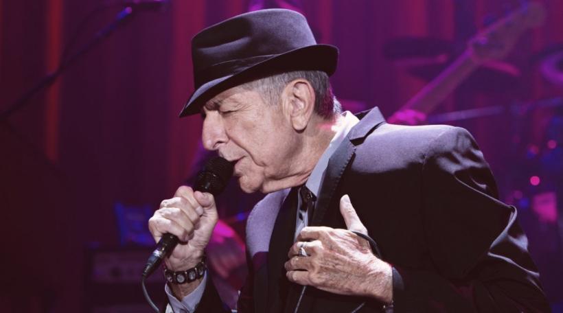 De Leonard Cohen an der Manchester arena