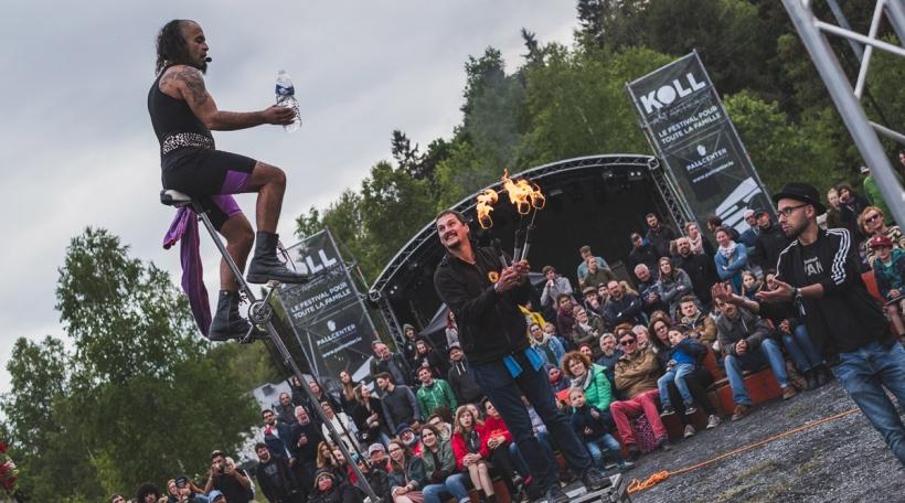 De Koll an Aktioun ass méi wéi just e Museksfestival. Foto: Sam Flammang