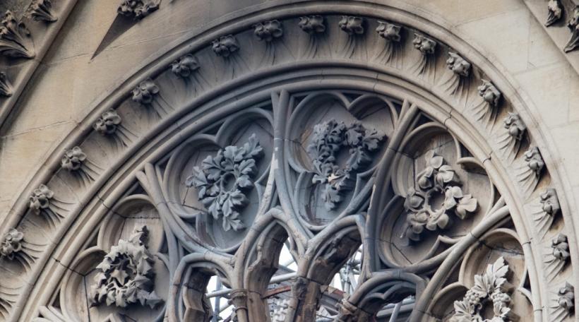 D'Kathedral Notre Dame nom Brand