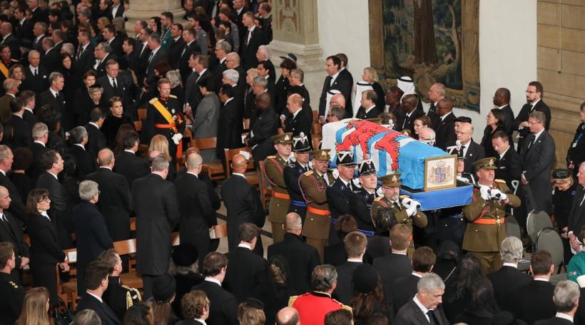 Funérailles de S.A.R. le Grand-Duc Jean, Cathédrale Notre-Dame de Luxembourg, samedi 4 mai 2019