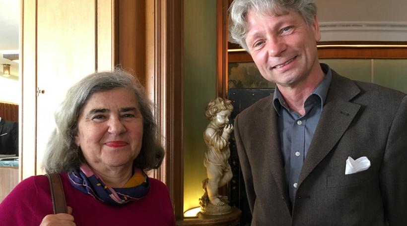 Barbara Honigmann an Nicolaus Wostroy