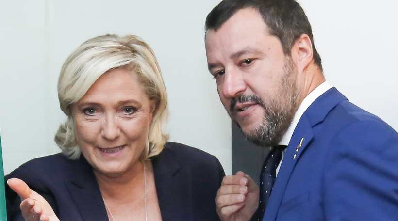 Le Pen, Salvini