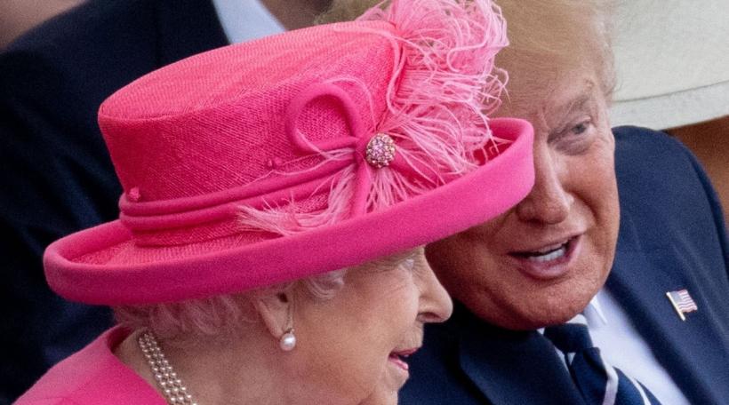 Queen Elizabeth II & Donald Trump