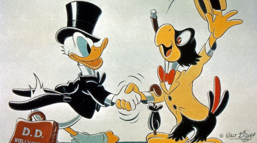 Donald Duck, The Three Caballeros, USA 1944