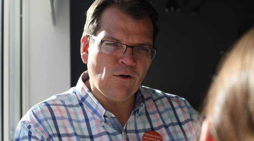 Den Thierry Bosman kämpft fir d'Rechter vun intergeschlechtleche Mënschen