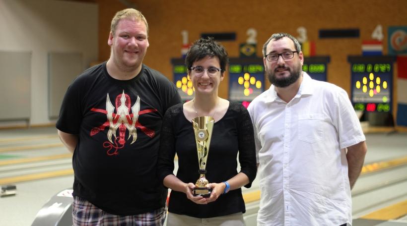 Gilles Mores, Mandy Parracho a Sascha André