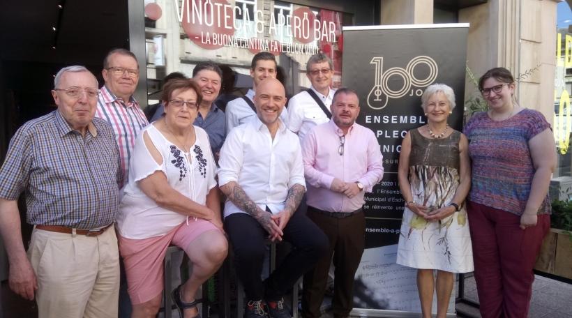 Comité 100 Joer Ensemble à plectre municipal d'EschAlzette