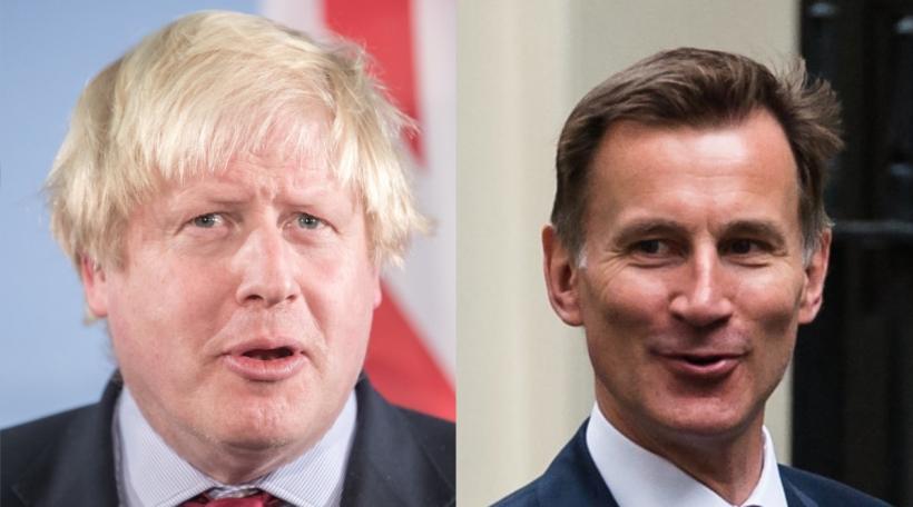 De Boris Johnson an den Jeremy Hunt