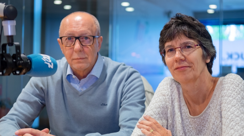 Roger Behrend a Sylvie Paquet