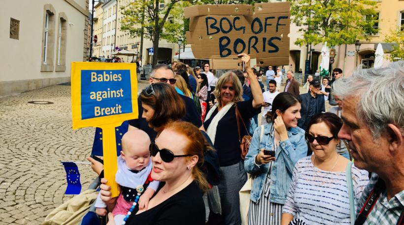 Boris Johnson zu Lëtzebuerg