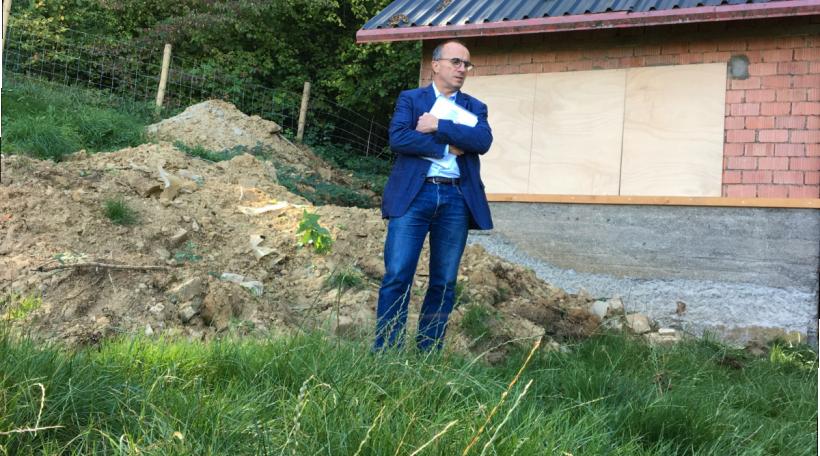 De Roberto Traversini beim Gaardenhäisschen