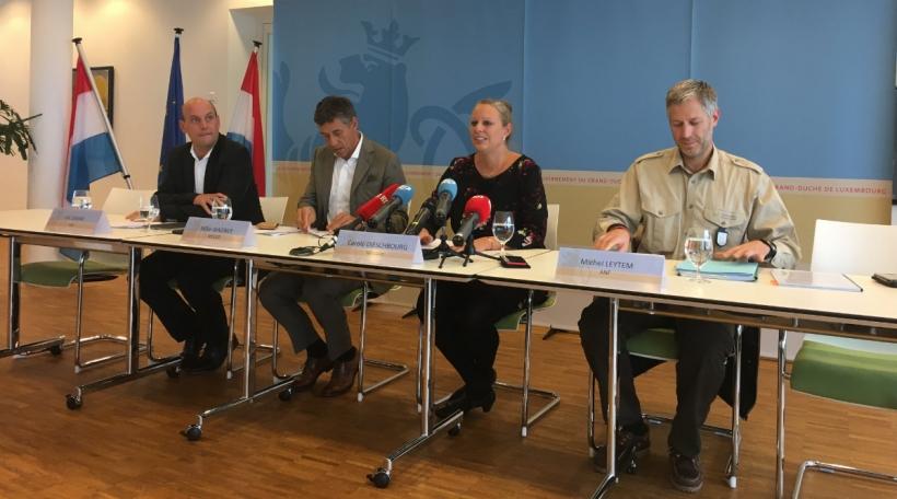 Pressekonferenz Dieschbourg
