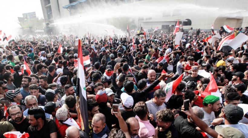 Protester Irak 1 dpa