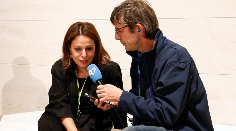 D'Anna Loporcaro am Interview mam Pierre Reyland