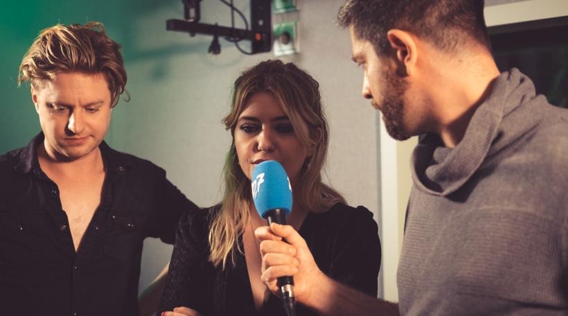De briteschen Duo am Interview
