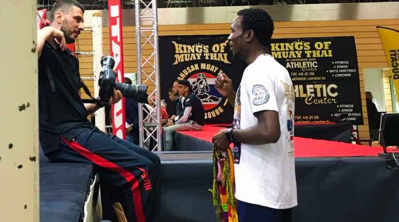 De Prince Junior (riets), Stonne viru sengem Kampf ëm den Interkontinentale WBC-Titel